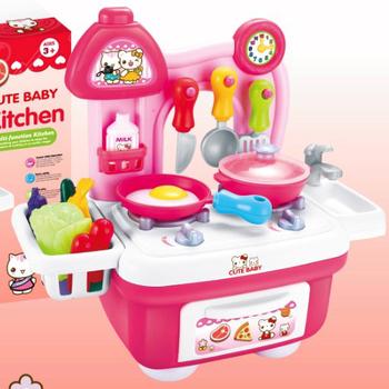 little girl kitchen sets gerber faucet kindergarten toys kids toy for wholesale