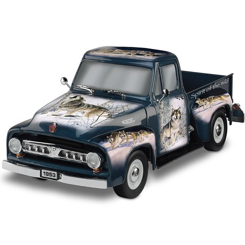 small resolution of get quotations 1 36 scale sculpture spirit of the wild ford f100 truck sculpture by