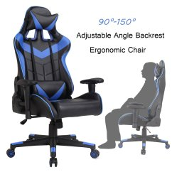 Ergonomic Chair Back Support Cushion Posture Cheap Office Chairs With Lumbar Find Get Quotations Racing Swivel Executive Gaming Computer Desk Task Rocker Pu Leather