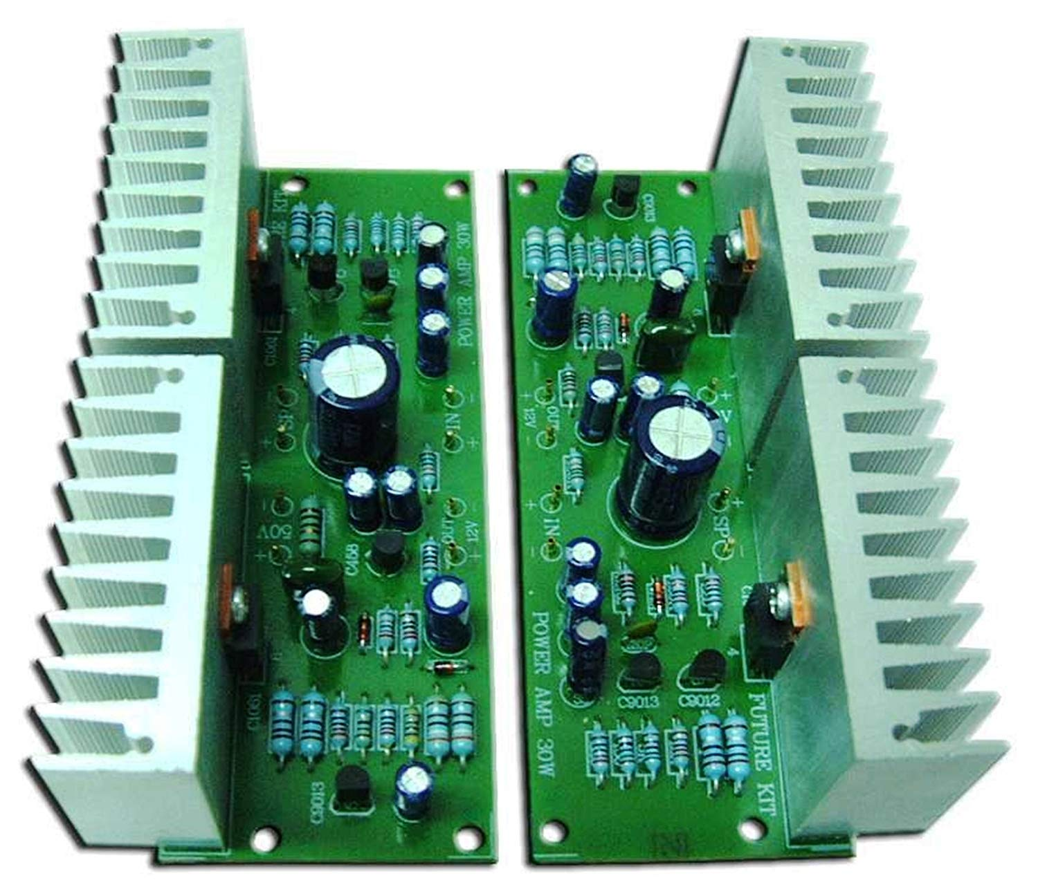 hight resolution of get quotations power amplifier otl 30w 30w stereo r1 assembled electronic circuit fa657