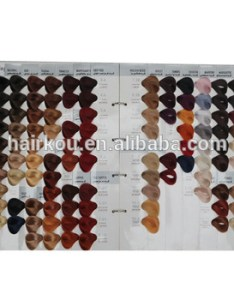 International salon hair color chart with colors for professional permanent dye also rh alibaba