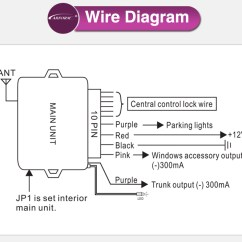 Car Alarm System Wiring Diagrams Rcbo Diagram Power Window Output Keyless Entry And Remote Central Door Lock, View ...