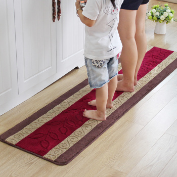 custom kitchen rugs cheap chairs wholesale non slip cotton acyrlic polyester rubber latex backed
