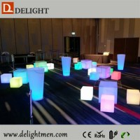 Inflatable Led Cube/ Led Cube Lighting Chair/ Plastic 3d ...