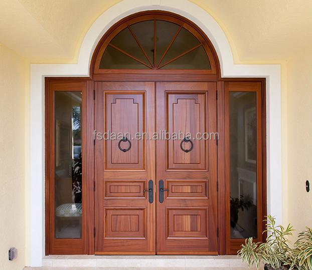 Antique Exterior Double Kerala Doors Design In Foshan