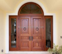 Antique Exterior Double Kerala Doors Design In Foshan