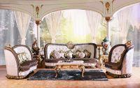 Luxury Victorian Style Living Room Furniture Sofa Set ...