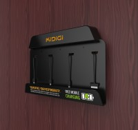Kidigi Wall Mount Charging Station For Public Place