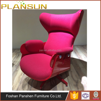 swivel chair in spanish vs glider design aluminum base replica jaime hayon bd barcelona retro lounge with footstool buy