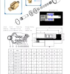 china supplier high temperature threaded copper pipe fitting rotary joint [ 1000 x 1414 Pixel ]