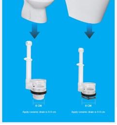 best quality watermark dual flush valve [ 750 x 1878 Pixel ]