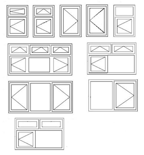 White Color Upvc Door & Windows With Double Glazed Mq-24
