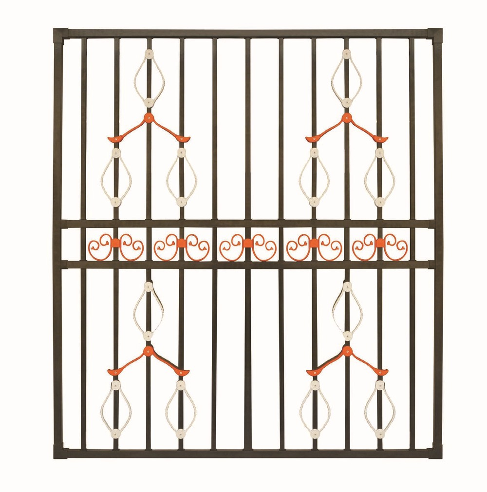 China Supplies Of House Window Grill Design / Modern