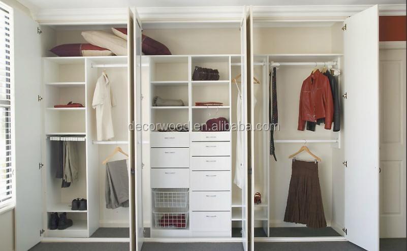 Fabrica precio white interior armarios closet de madera de