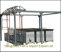 Electrostatic Powder Coating Oven For Sale With Racks ...