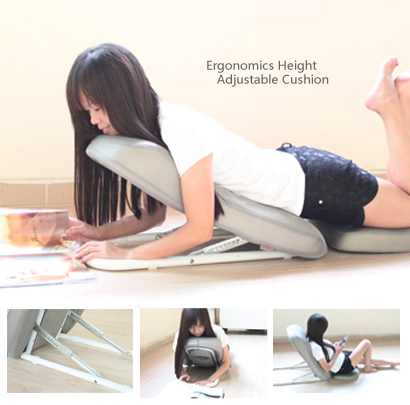 Adjustable Vented Laidback Laptop Table Desk Bed Tray For