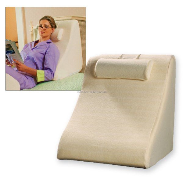 Spine Reliever Bed Wedge - Cushion Position Support Pillow Super High Wedges
