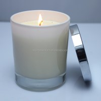 Korea Frosted Glass Candle Jar,Glass Candle Holder With ...
