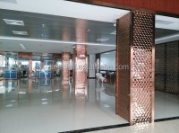 Stainless Steel Square Column Decor Cover For Building ...