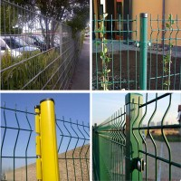Cheap Welded Mesh Curved Security Fence Home Depot - Buy ...