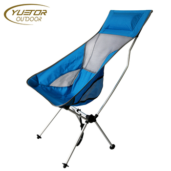 back pack beach chairs rubber feet for extra long high backpack fining yuetor buy adult camping moon chair clearance deluxe portable lightweight camp