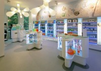 Luxury Pharmacy Shop Interior Design And Medical Store ...