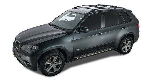 small resolution of get quotations 2012 2013 bmw x5 e70 4dr suv with roof rails high vortex stealthbar
