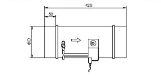 Hvac System Vav Motorized Belimo Dc 24v Damper Actuator