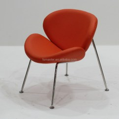 Orange Slice Chair Zero Gravity Office Replica Fiberglass Leisure Living Room