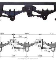 suspension system parabolic leaf spring for semi trailer truck tractor manufacturer [ 1290 x 954 Pixel ]