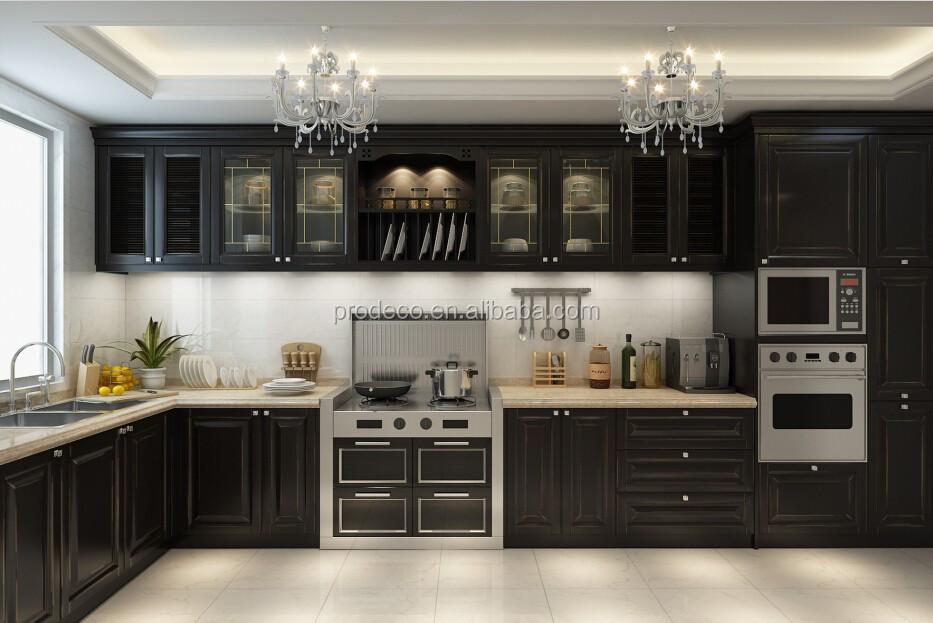 Muebles De Lujo De Aluminio Mueble De Cocina Puerta De