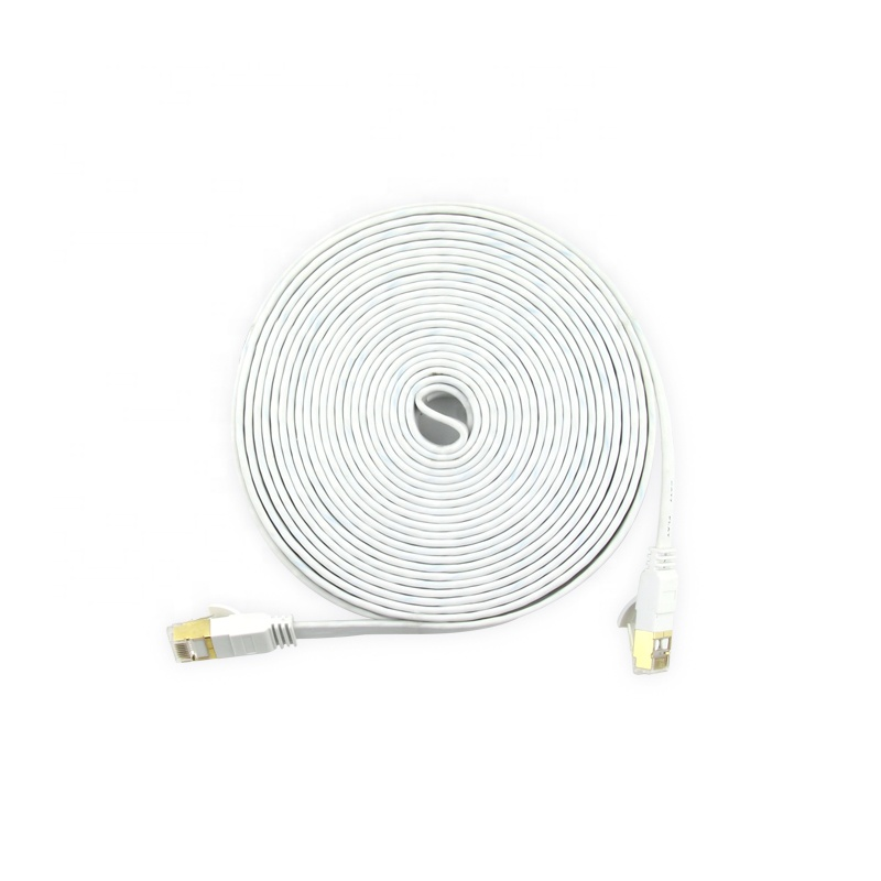 Cantell 20m Factory Sftp Cat 7 Flat Ethernet Cable Rj45