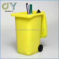 Custom Trash Can Pen Holder / Mini Garbage Can Pencil ...