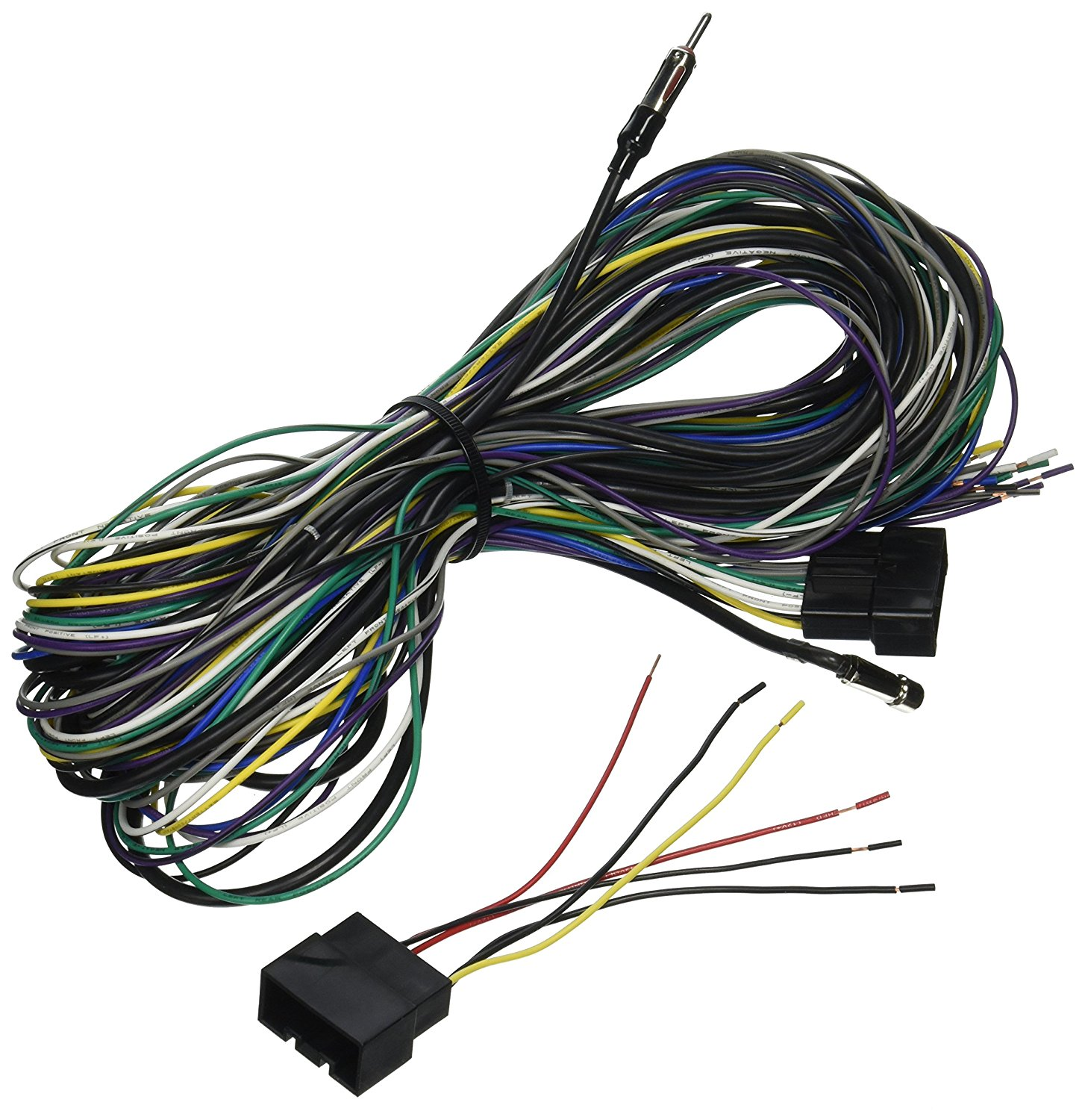 hight resolution of get quotations scosche radio wiring harness for 1998 up ford taurus mecury sable power speaker