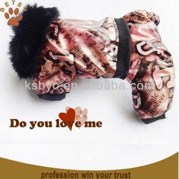 Dog Winter Coat With Legs
