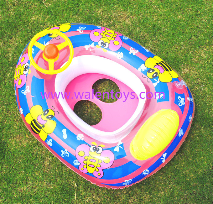 baby blow up ring chair spandex covers amazon summer swimming kids inflatable pool seat float boat floating raft yellow duck