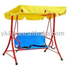 Indoor Swingasan Chair Revolving In Urdu Swing For Children/kids Double Chair/metal Kids Outdoor Seat ...