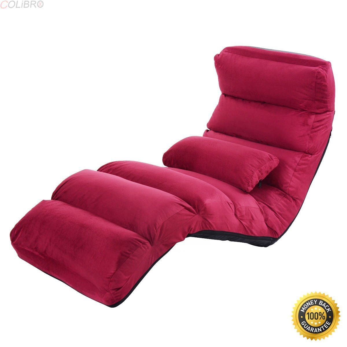 best floor chair who sells bean bag chairs buy giantex folding lazy sofa stylish couch beds lounge colibrox bed w pillow