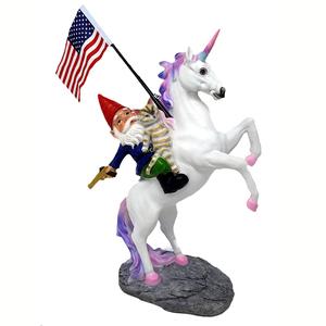 unicorn sculpture funny garden