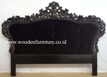 antique reproduction headboard french style bedroom furniture