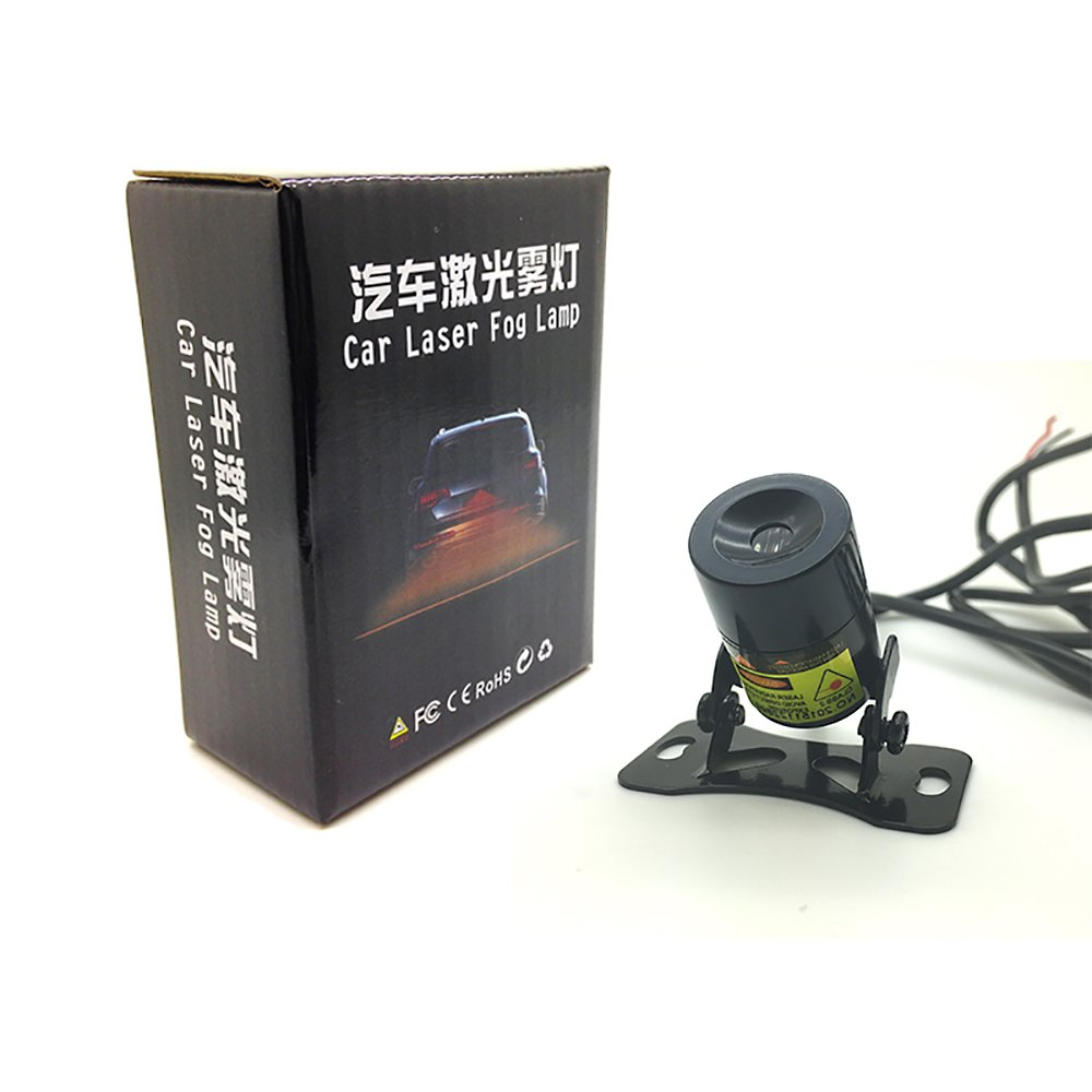 hight resolution of get quotations leadtops 1set straight line anti collision car laser tail fog light auto reverse light parking light