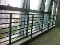 High Quality Aluminum Porch Balcony Fence,Balcony ...