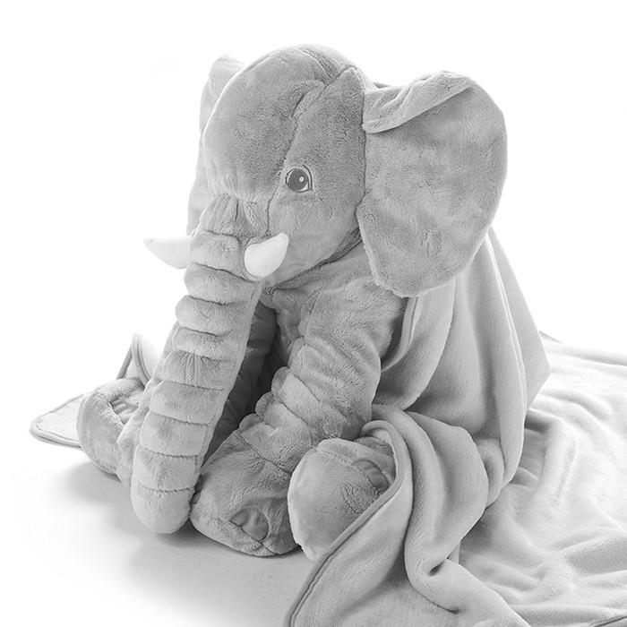 stuffed baby plush elephant pillow blanket elephant pillow with zipper buy elephant pillow baby elephant pillow elephant pillow blanket product on