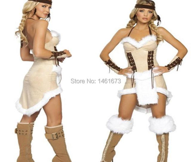 Buy Free Shipping Cherokee Chief Native Indian Princess Costume Sexy Adult Cosplay Exotic Apparel Halloween Costume For Women In Cheap Price On Alibaba Com