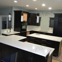 Kitchen Tabletops Flooring Trends High Gloss Countertops Grey Solid Surface Buy