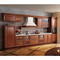 Walnut Cabinets Kitchen American Standard Faucet Repair Solid Wood Cupboard With Granite Top Buy Cabinet Grantie Product On