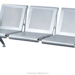 Steel Chair Manufacturing Process Covers And Tablecloth Rentals Henking Airport 3 Seater Waiting Seats H317