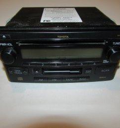 get quotations 03 05 toyota rav4 celica rav4 radio cd player tape tested 11188 [ 1024 x 768 Pixel ]