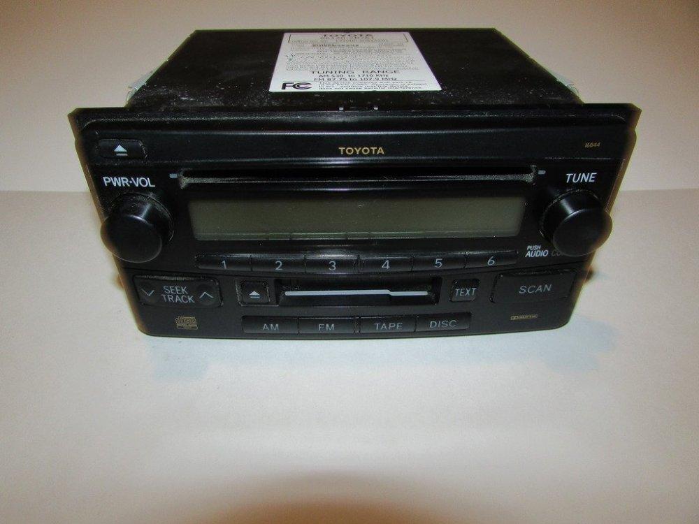medium resolution of get quotations 03 05 toyota rav4 celica rav4 radio cd player tape tested 11188
