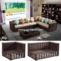 Cheaper Indoor Outdoor Rattan Sofa Set Import China